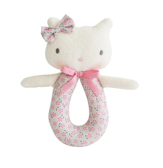 Kitty Grab Rattle Ditsy Floral