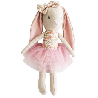 Baby Bunny 26cm Blossom Lily Pink