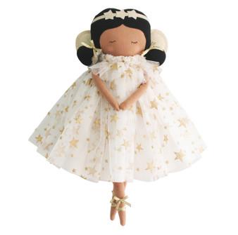 Gracie Fairy Doll - 38cm Ivory Gold Star