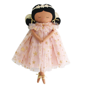 Seraphina Fairy Doll 38cm Pink Gold Star