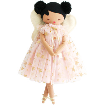 Lily Fairy 48cm Pink Gold Star