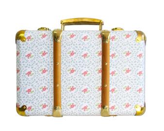 Mini Vintage Brief Case - Honey Tree Floral