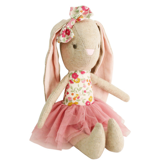 Linen Baby Pearl Toy 26cm Blush