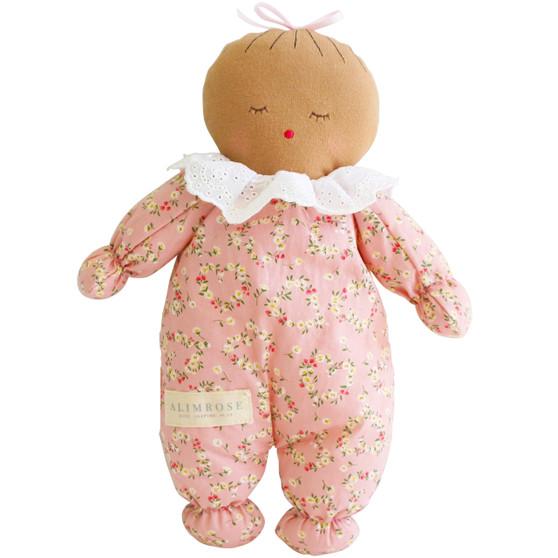 Asleep Awake Baby Doll 24cm Posy Heart