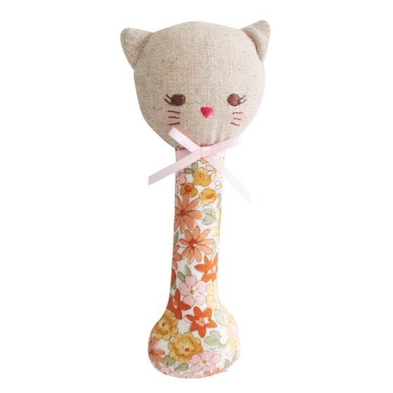 Kitty Stick Rattle Sweet Marigold