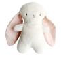 Bobby Snuggle Bunny 20cm Pink Linen