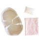 Playtime Doll Carrier Set 30cm Pale Pink & Spot