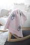 Organic Koala Baby Blanket Set Pink
