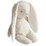 Floppy Bunny Linen 25cm White Spot