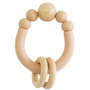 Remy Beechwood Slicone Teether - Apricot