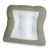 Solid Color Non Skid Chair Pad in Mist