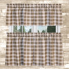 """Country Check Tailored Tier Pair - 36"""" Length in Camel"""