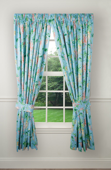 Wisteria Tailored Panel in Turquoise
