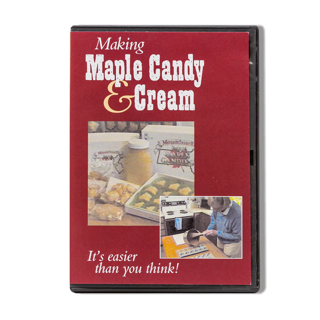 Making Maple Candy and Cream