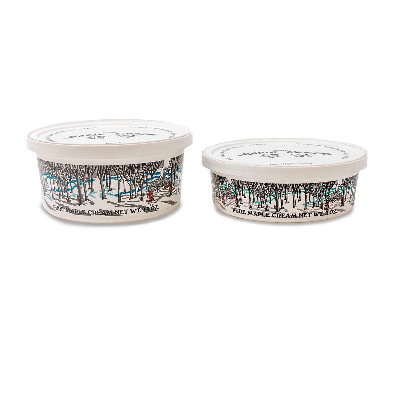 Maple Cream Tubs