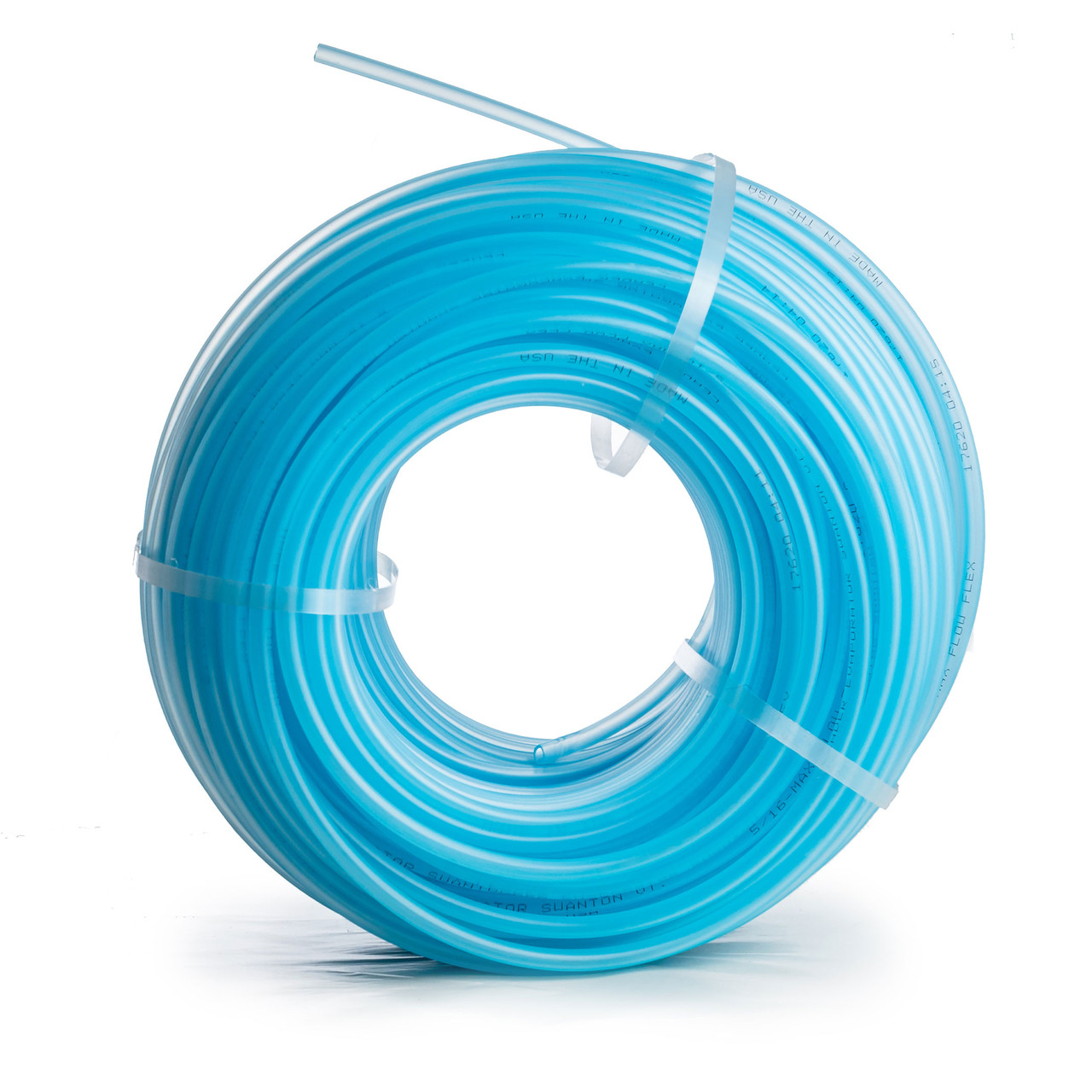 "Leader 5/16"" Blue Max Flow Flex Tubing"