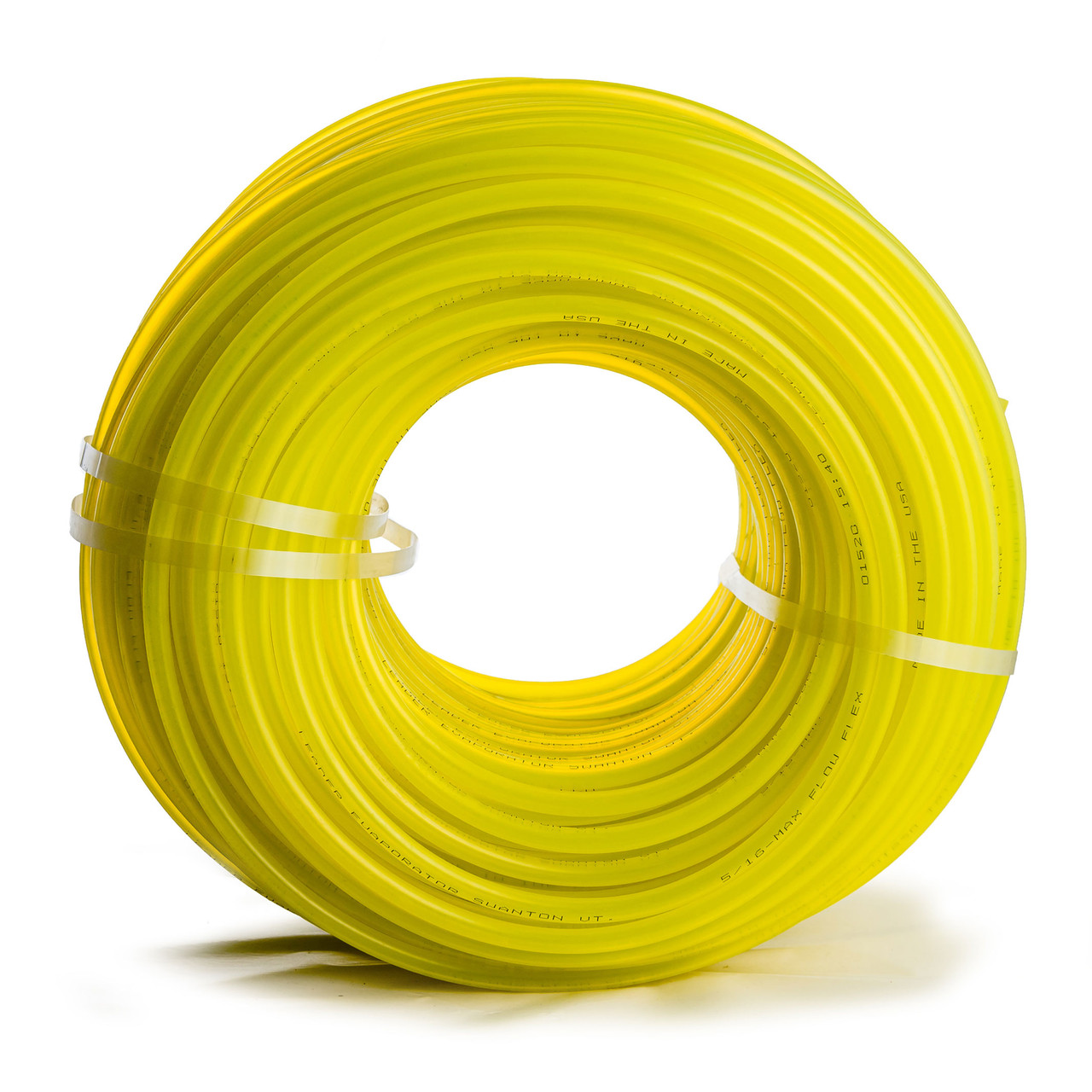 "Leader 5/16"" Yellow Max Flow Flex Tubing"