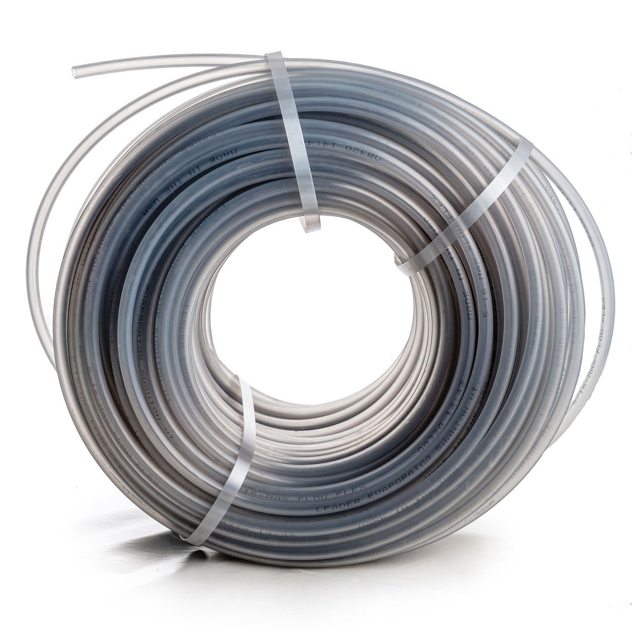 "Leader 5/16"" Grey Max Flow Flex Tubing"