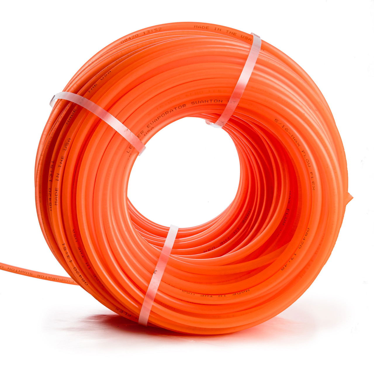 "Leader 5/16"" Orange Max Flow Flex Tubing"