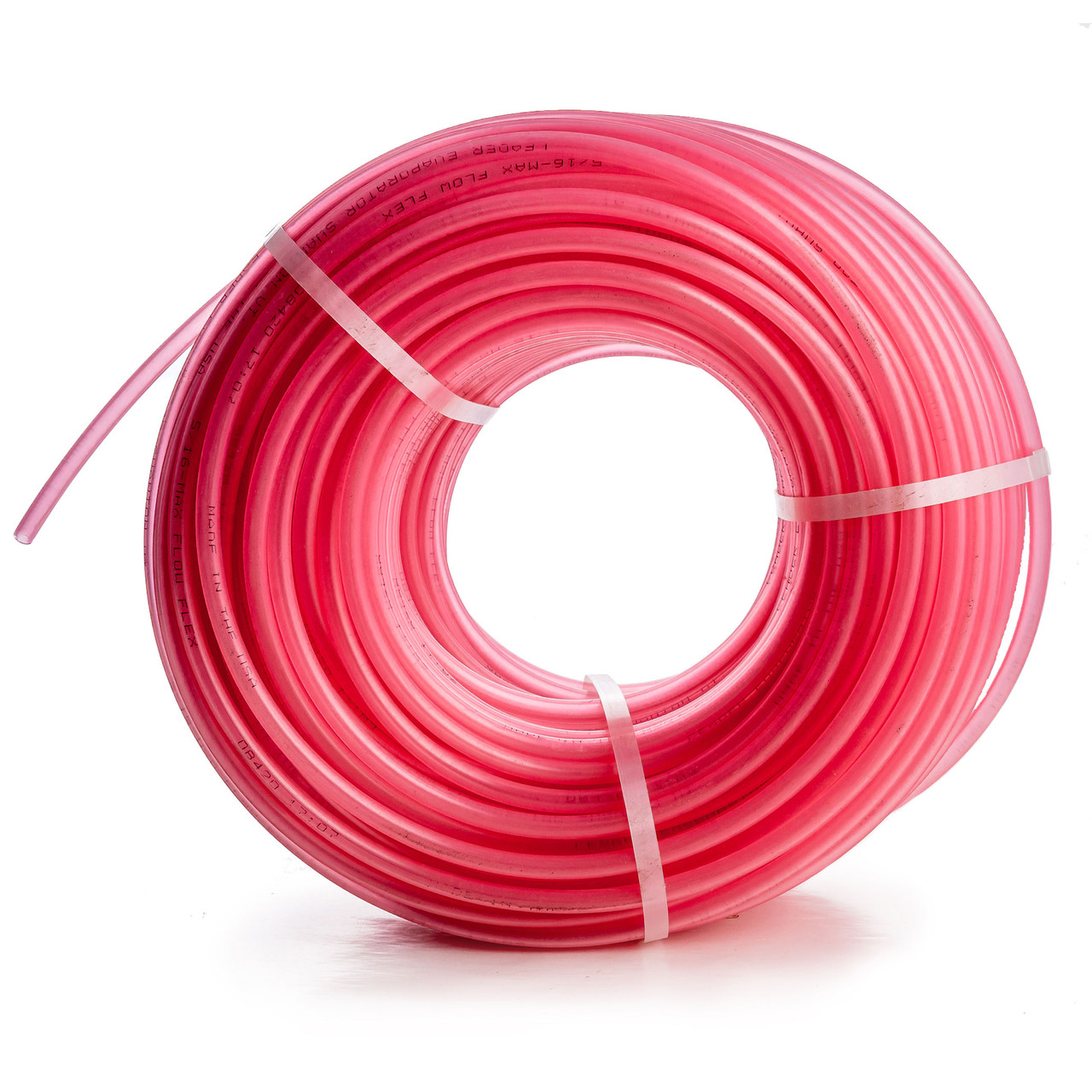 "Leader 5/16"" Pink Max Flow Flex Tubing"