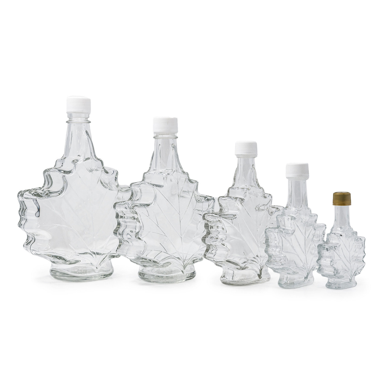Maple Leaf  Bottles for Maple Syrup