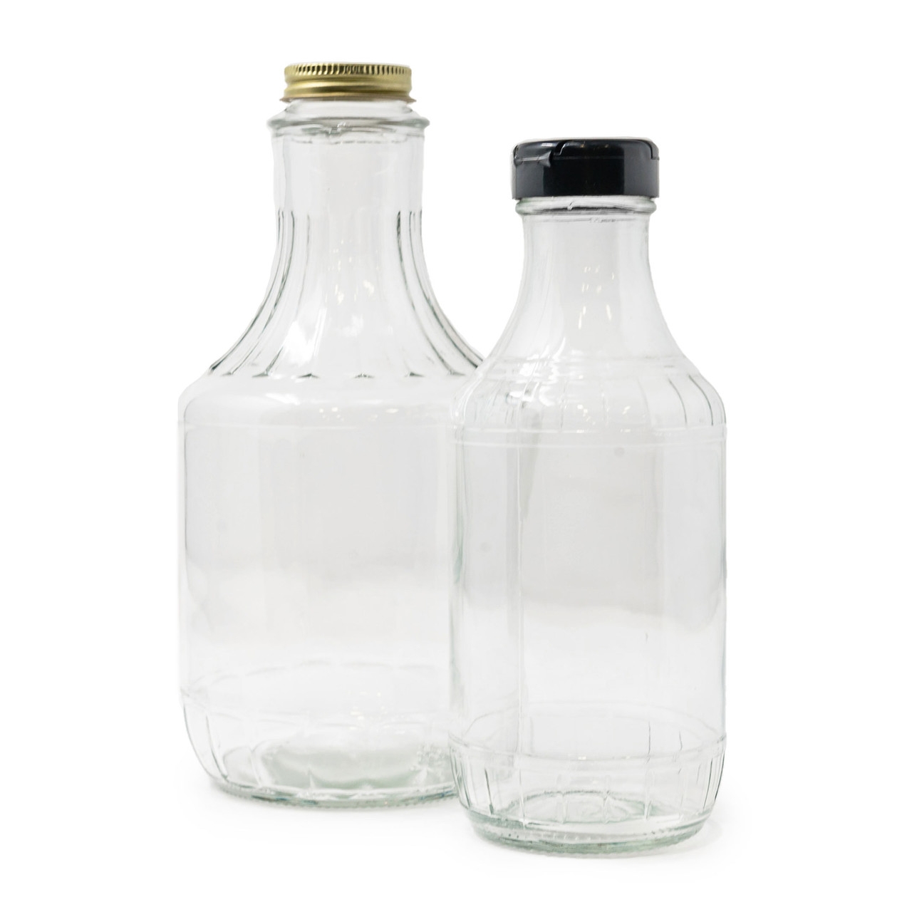 Decanter Bottles for Maple Syrup