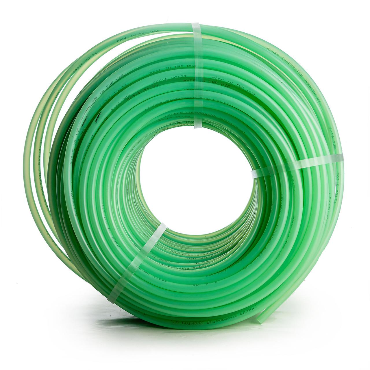 Green Leader 30P Plastic Tubing for maple sap.