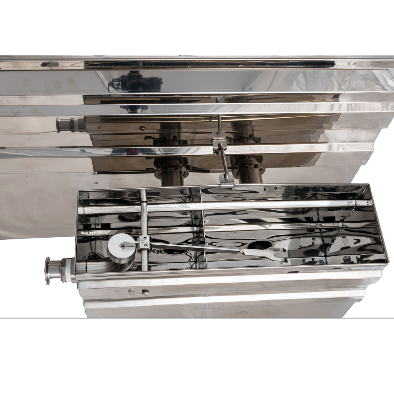 Revolution/Cross Flow Drop Flue Pans
