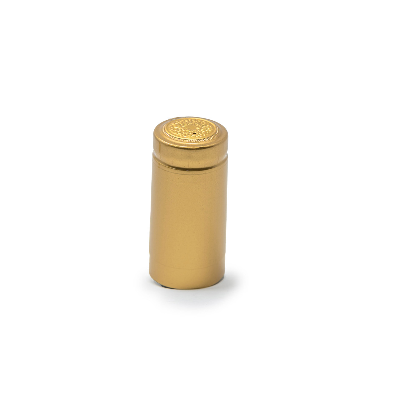 Gold shrink wrap top