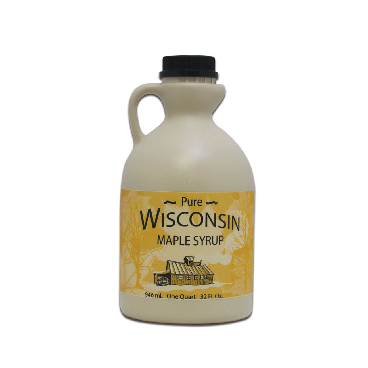 Plastic Jug for Maple Syrup - Wisconsin