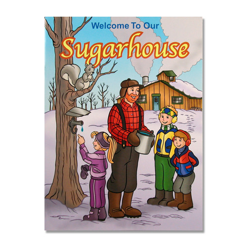 Welcome to Our Sugarhouse Coloring Book