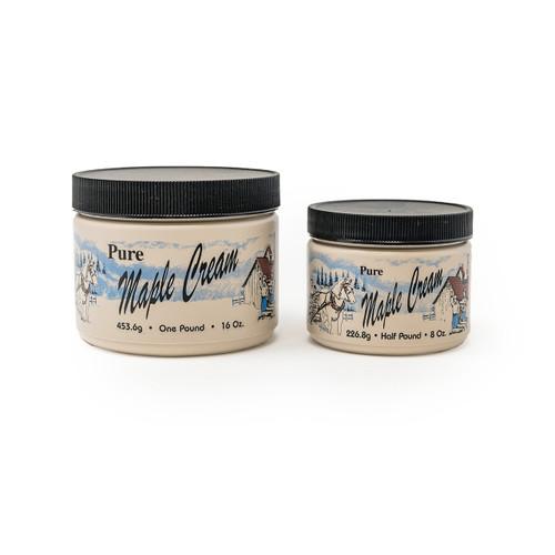Plastic Maple Cream Jars