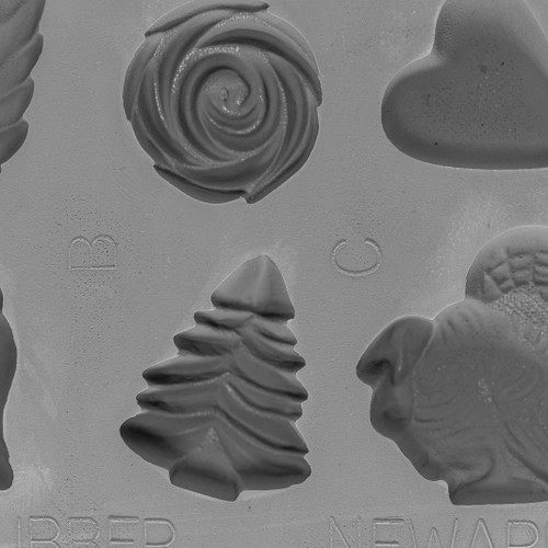 Rubber Demonstration Candy Mold