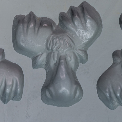 Rubber Moose Head Candy Mold