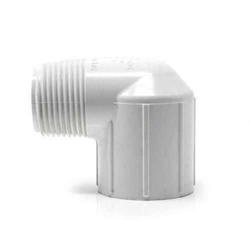 PVC Elbow - White