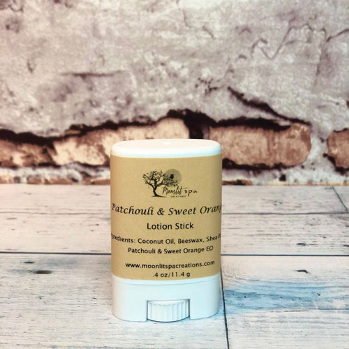 Lotion Stick Patchouli and Sweet Orange