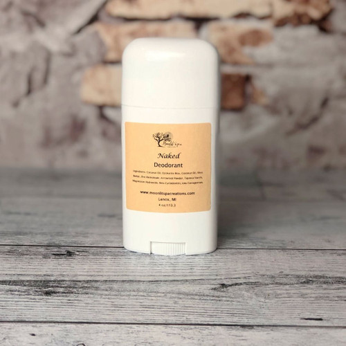 All Natural Deodorant Unscented
