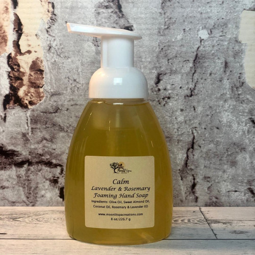 Liquid Foaming Soap Calm - Lavender & Rosemary