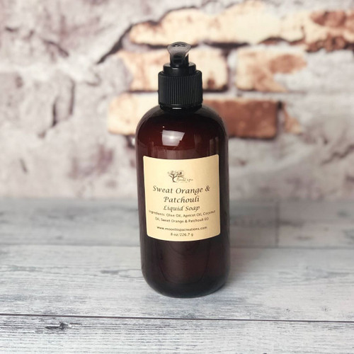 Liquid Soap Sweet Orange & Patchouli