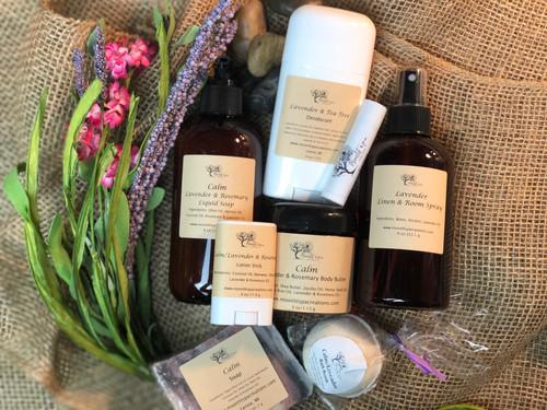 Calm/Lavender & Rosemary Gift Set