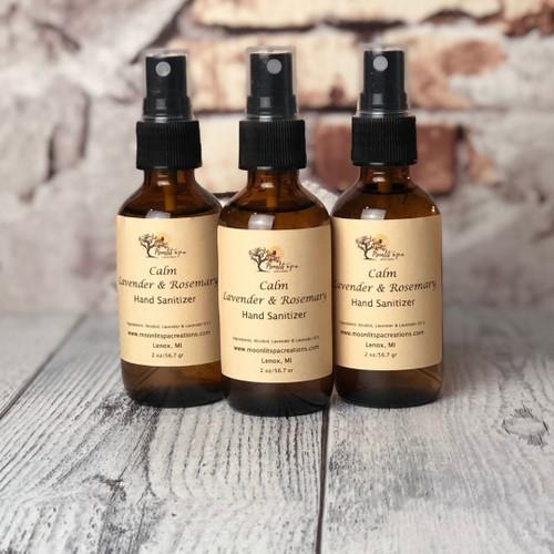 Hand Sanitizer - Calm/Lavender & Rosemary
