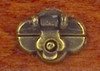 Trunk Lock - Antique Brass