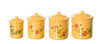 Cannister Set - Yellow
