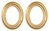 Oval Frames - Small and Gold