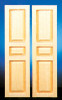 Dollhouse City - Dollhouse Miniatures 3-Panel Shutters Set