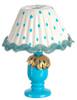 Blue Table Lamp-DIY