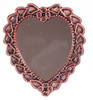 Heart Mirror - Antique and Copper