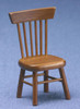 Dollhouse City - Dollhouse Miniatures Chair - Walnut