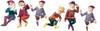 Dollhouse City - Dollhouse Miniatures Medium Gnomes