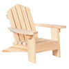 Adirondack Chair - Natural